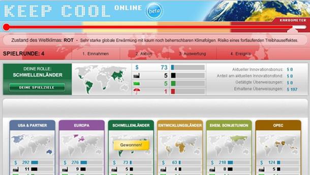 Screenshot Keep Cool Online