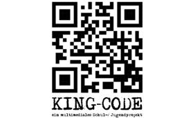 Logo KING-CODE - ein multimedielaes Schul-/Jugendprojekt @ www.king-code.de/home.htm
