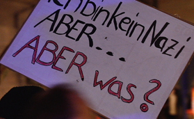08.12.2014 Sternlauf gegen PEGIDA in Dresden CC BY-NC 2.0 Caruso Pinguin @ flickr.com_Wochen gegen Rassimus
