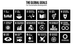 The Global Goals_Grid_Icon_Black CC BY-SA 3.0 Project Everyone and the Global Goals Campaign @ globalgoals.org-NRO-Bericht Agenda 2030